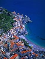 イタリア アマルフィ海岸 俯瞰