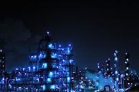 神奈川県 夜の工場