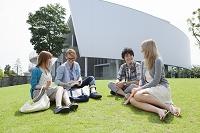 大学生と外国人留学生