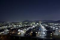 住宅街の夜景
