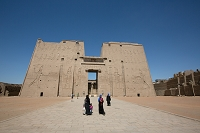 エジプト ホルス神殿(アスワン地方)