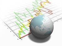 グラフと地球儀