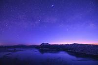 北海道 摩周湖と天の川
