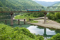 高知県 予土線 三島鉄橋