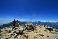 北アルプス・唐松岳山頂