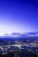 長崎県 長崎市の夜明け