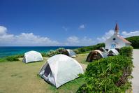 山口県 角島大浜キャンプ場