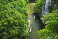 岩手県 猊鼻渓と舟下り