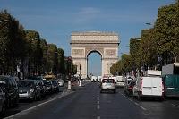 フランス パリ エトワール凱旋門 シャンゼリゼ