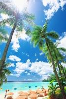 グアム 夏のタモンビーチ