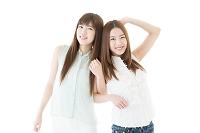 仲の良い日本人女性
