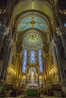 フランス リオン ノートルダム・ドゥ・フールヴィエール寺院