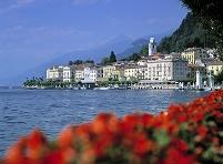 イタリア ベラギオ コモ湖
