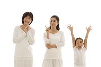 母親と娘と孫