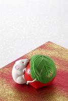 仙台の民芸品堤人形(干支ネズミ)