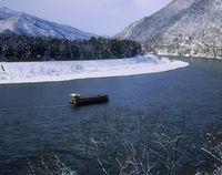 阿賀野川 川下り 雪見舟
