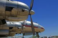 ロッキードL-1049コンステレーション旅客機 ピマ航空宇宙博物館