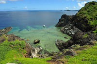 沖縄県 御神崎から見た石垣島の海