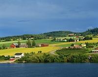 ノルウェー リレハンメル近郊 ミョーサ湖