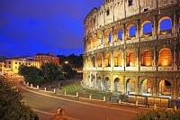 イタリア ローマ ローマ歴史地区 コロッセオ