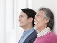 日本人の父と息子