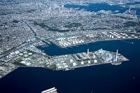 新磯子地区 東京電力南横浜 火力発電所 電源開発磯子火力発電...