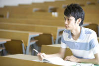 授業を受ける学生