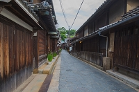 広島県 鞆の浦の町並み
