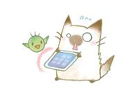 モバイル 猫