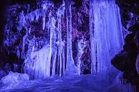 鳴沢氷穴 氷柱