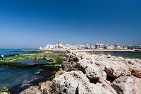 町並みと地中海 ティール レバノン