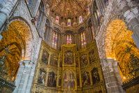 スペイン アビラ アビラ大聖堂の内部