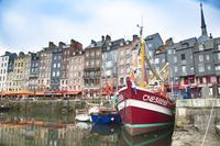 フランス オンフルールの旧港