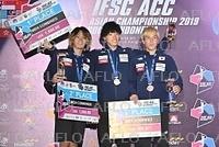 スポーツクライミング:アジア選手権