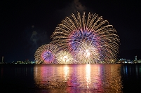 滋賀県 琵琶湖花火大会