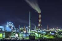 茨城県 鹿島臨海工業地帯