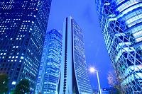 東京都 西新宿 超高層ビル群 夕景