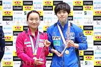 卓球:全日本選手権