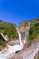 富山県 称名滝とハンノキ滝