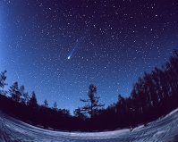 大熊座をゆく百武彗星