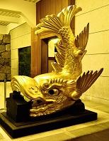 愛知県  名古屋城  金の鯱