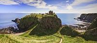 イギリス スコットランド ダノター城