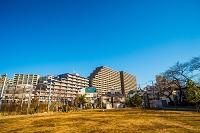 東京の青空 マンション