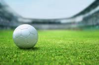 スタジアムとサッカーボール
