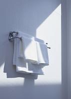 バスルームのタオルハンガー