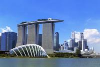 シンガポール マリーナ・ベイ フラワー・ドーム