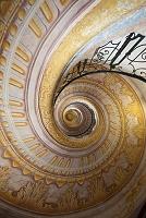 オーストリア  メルク修道院 螺旋階段