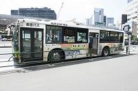 ノンステップバス 路線バス 新橋駅