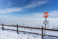 北海道 知床の流氷
