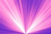 ピンクと白の光線 CG